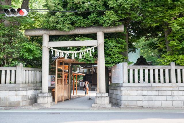 関東有数の縁結びの神社