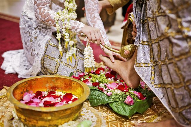 ジャワ島の結婚式