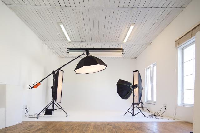 プロの撮影スタジオ